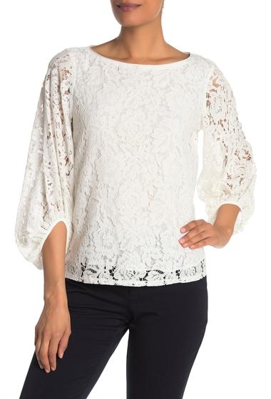 Imbracaminte Femei Laundry by Shelli Segal Loose Lace Top CLOUD