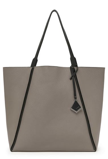 Genti Femei Botkier Trinity Leather Tote WINTER GREY