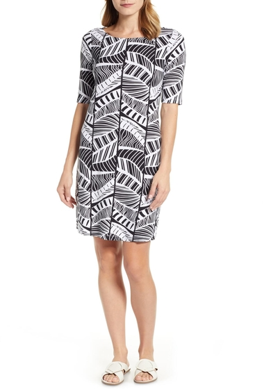 Imbracaminte Femei Tommy Bahama Leaf Line Shift Dress BLACK
