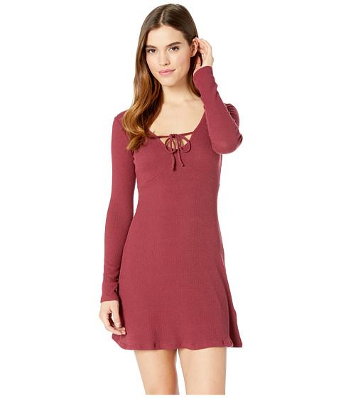 Imbracaminte Femei Billabong Walk On Dress Cranberry