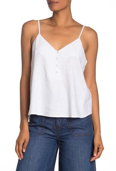 Imbracaminte Femei Abound Linen Blend Button Front Tank Top WHITE