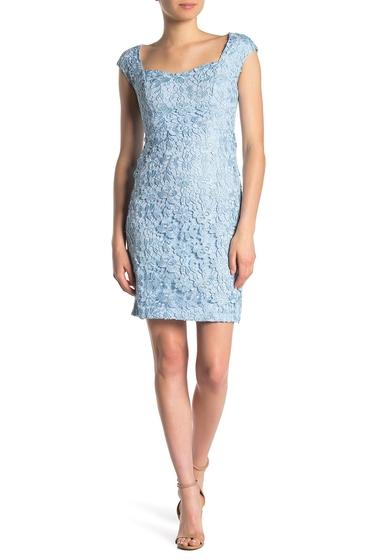 Imbracaminte Femei Alexia Admor Brynne Lace Cap Sleeve Dress BLUE