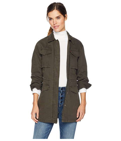 Imbracaminte Femei Levi's Four-Pocket Button Front Oversized Military Army Green