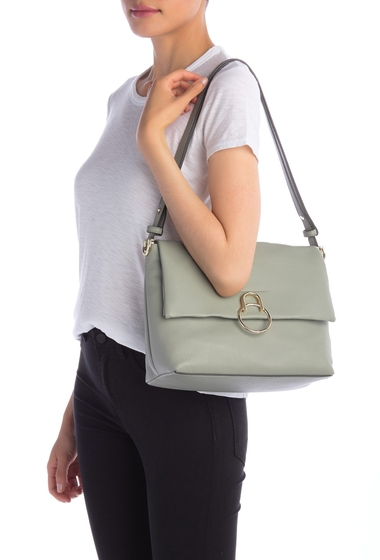 Genti Femei Vince Camuto Plum Leather Shoulder Bag PEAPOD 02
