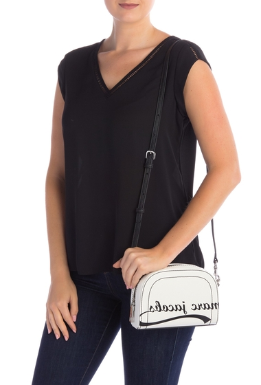 Genti Femei Marc Jacobs Playback Mirrored Logo Crossbody Bag PORCELAIN
