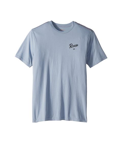Imbracaminte Barbati RVCA Postmark Short Sleeve Dusty Blue