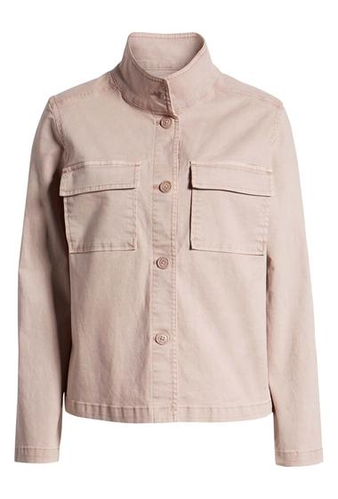 Imbracaminte Femei Caslon Short Utility Jacket PINK ADOBE