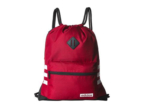 Genti Femei adidas Classic 3S Sackpack Active MaroonBlackWhite