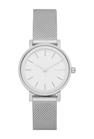 Ceasuri Femei Skagen Womens Hald Mesh Strap Watch 26mm NO COLOR