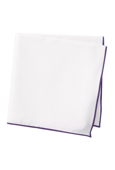 Accesorii Barbati 14th Union Hays Solid Pocket Square PURPLE