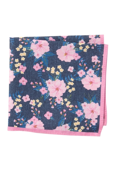 Accesorii Barbati 14th Union Ely Floral Pocket Square PINK