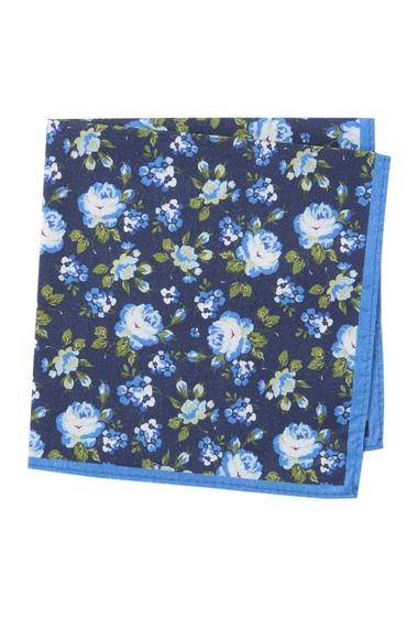 Accesorii Barbati 14th Union East Floral Pocket Square BLUE
