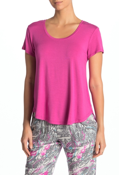 Imbracaminte Femei Josie Scoop Neck Knit T-Shirt WOR
