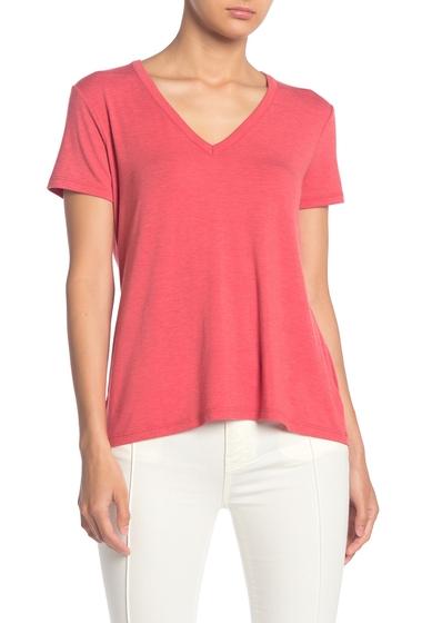 Imbracaminte Femei Splendid Slim V-Neck T-Shirt CARMINE