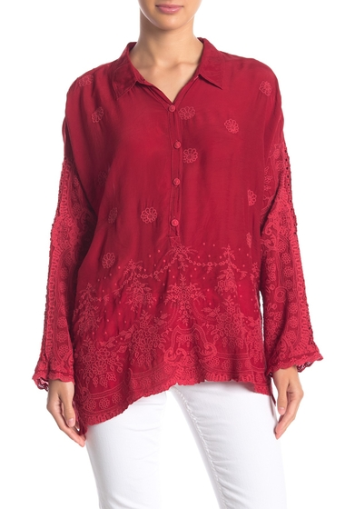 Imbracaminte Femei Johnny Was Antik Embroidered Blouse LAV