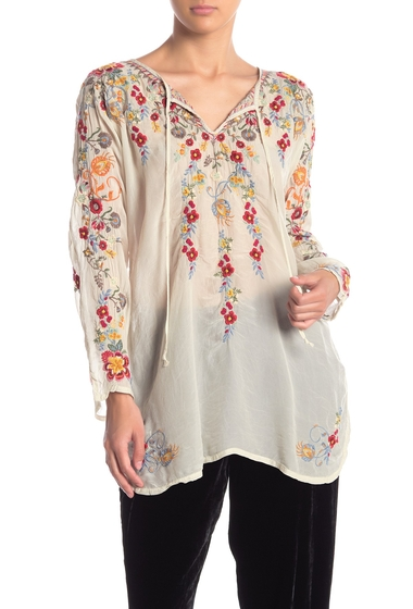 Imbracaminte Femei Johnny Was Autumn Bloom Floral Embroidered Tunic SHL