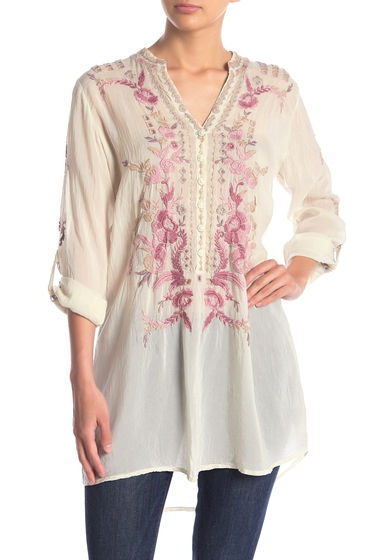 Imbracaminte Femei Johnny Was Clio Floral Embroidered Tunic SHL