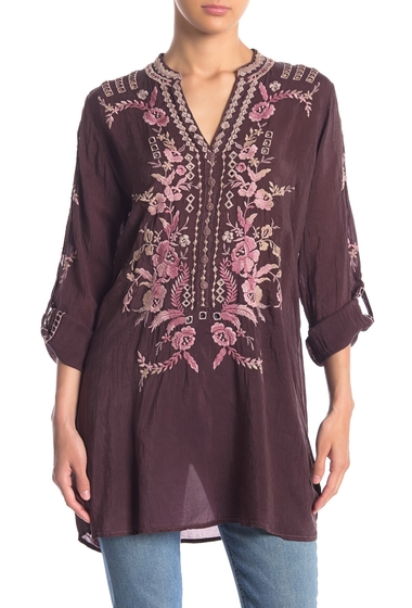 Imbracaminte Femei Johnny Was Clio Floral Embroidered Tunic RAISN
