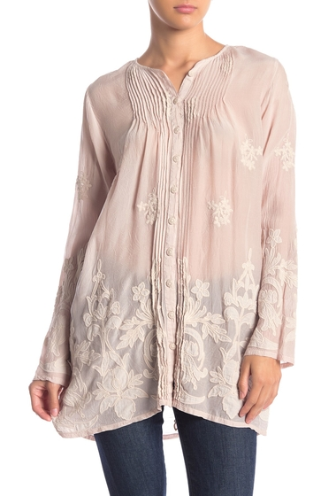 Imbracaminte Femei Johnny Was Frinna Embroidered Button Down Tunic DPI
