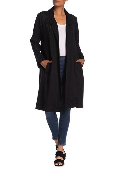 Imbracaminte Femei Johnny Was Kirin Embroidered Jacquard Coat BLACK