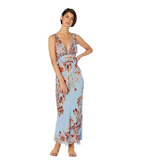 Imbracaminte Femei Free People Never Too Late Maxi Dress Blue