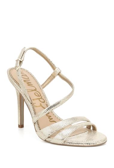 Incaltaminte Femei Sam Edelman Alisandra Metallic Stiletto Sandal MOLTEN GOLD