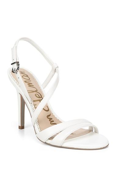 Incaltaminte Femei Sam Edelman Alisanda Leather Stiletto Sandal BRIGHT WHITE