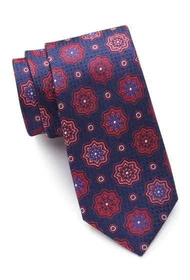 Accesorii Barbati Ted Baker London Star Medallion Silk Tie RED