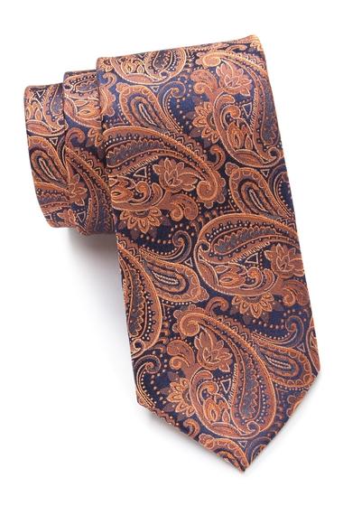 Accesorii Barbati Ted Baker London Tonal Paisley Silk Tie ORANGE