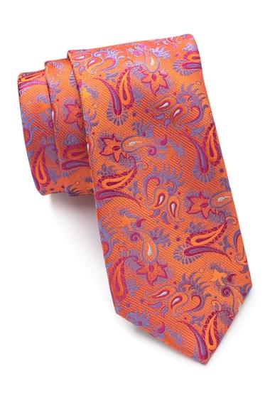 Accesorii Barbati Ted Baker London Double Pine Silk Tie ORANGE