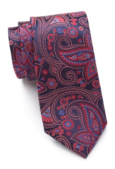Accesorii Barbati Ted Baker London Contrast Paisley Silk Tie RED