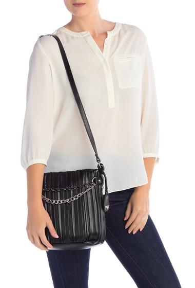 Genti Femei Jessica Simpson Becca Buket Crossbody Bag BLACK-SKBLK