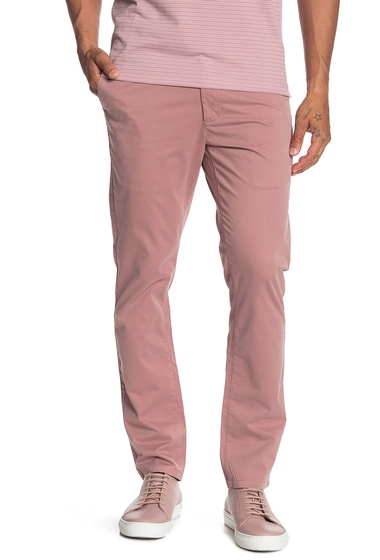 Imbracaminte Barbati John Varvatos Star USA Lenny Skinny Core Chino Pants ROSE