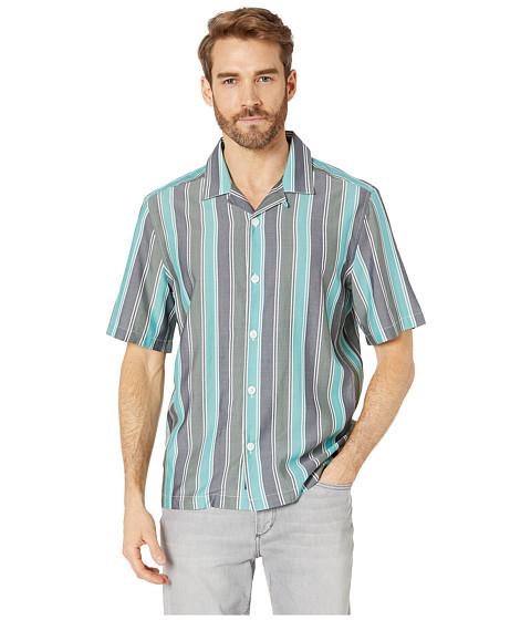 Imbracaminte Barbati Perry Ellis Wide Stripe Shirt Kombu Green