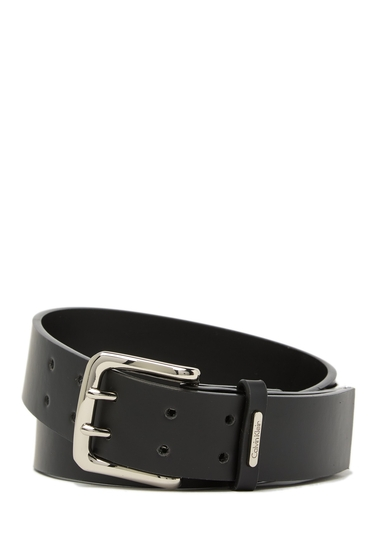 Accesorii Femei Calvin Klein Double Prong Belt BLACK