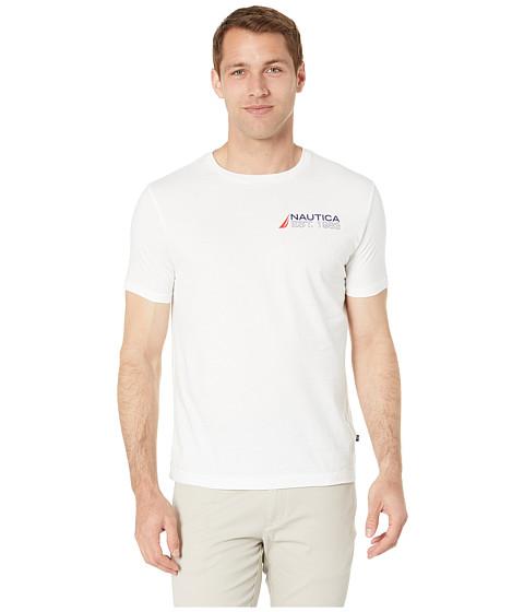 Imbracaminte Barbati Nautica Flags T-Shirt Bright White
