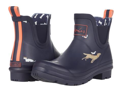 Incaltaminte Femei Joules Wellibob Chelsea Boot Navy Beach Dogs image0