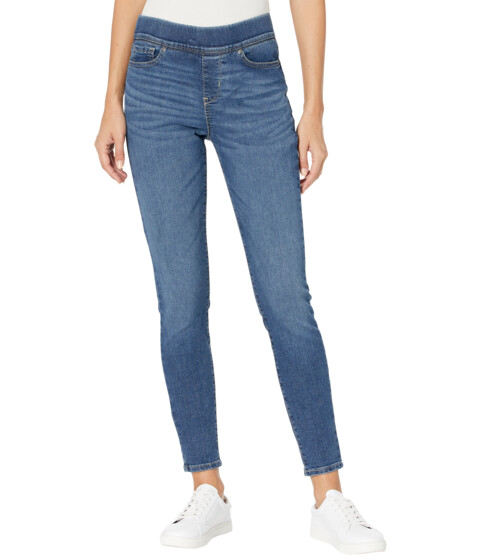 Imbracaminte Femei Signature by Levi Strauss Co Gold Label Totally Shaping Pull-On Skinny Jeans Sun Worhsipper image0