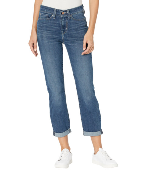 Imbracaminte Femei Signature by Levi Strauss Co Gold Label Mid-Rise Slim Boyfriend Jeans Before Dusk image0