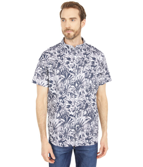 Imbracaminte Barbati Columbia Rapid Riverstrade Printed Short Sleeve Shirt Collegiate Navy Toucanical image0