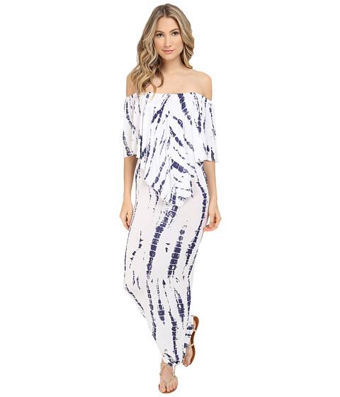 Imbracaminte Femei Culture Phit Ayden Dress WhiteNavy Tie-Dye