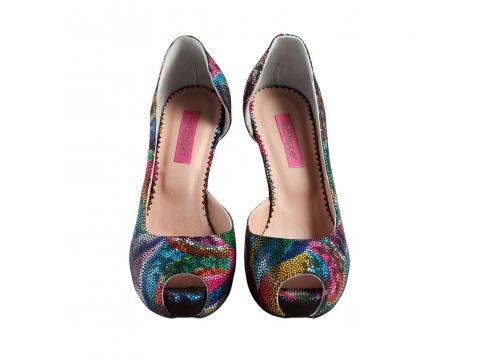Incaltaminte Femei Hotstepper Pantofi Sunberry Madness Multicolor