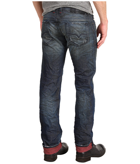 Imbracaminte Barbati Diesel Red Color Exposure Safado Straight 804K Denim