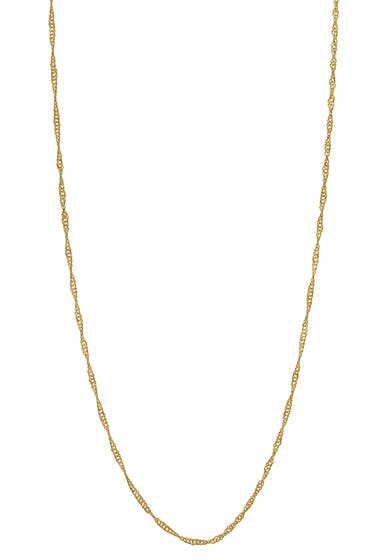 Bijuterii Femei Bony Levy 14K Yellow Gold 22 Twisted Chain Necklace 14kyg image0