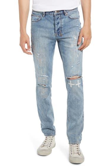 Imbracaminte Barbati Ksubi Chitch Plus One Ripped Jeans Denim image0