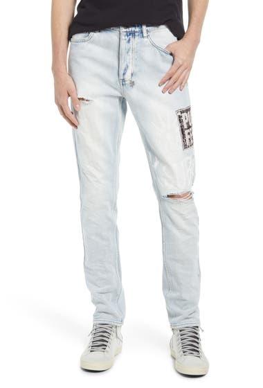 Imbracaminte Barbati Ksubi Chitch Pure Feels Slim Fit Jeans Denim image0