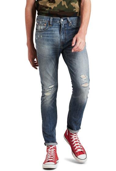 Imbracaminte Barbati Levis Levissupsup 512supsup Flex Slim Tapered Leg Ripped Jeans Cookiecutter Warp Cool image0