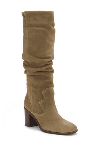 Incaltaminte Femei Lucky Brand Jolna Knee High Boot Fossilized image0