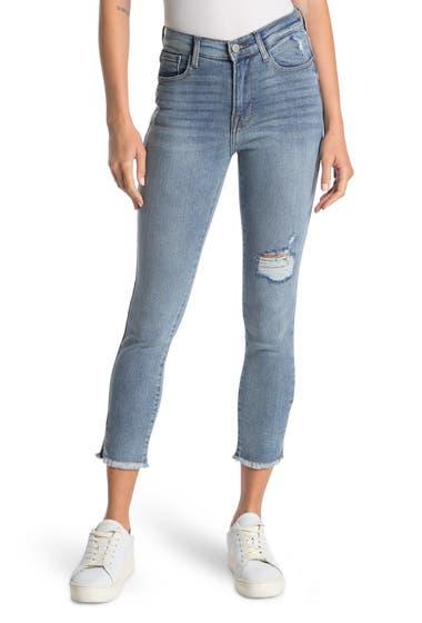 Imbracaminte Femei kensie High Rise Frayed Hem Jeans Sydney W D image0