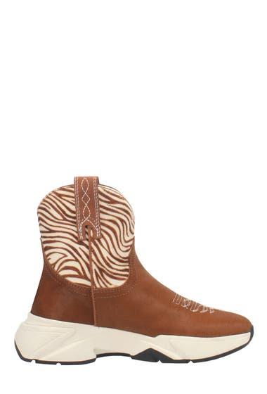 Incaltaminte Femei Dan Post Dingo Safari Boot Tan Zebra image0